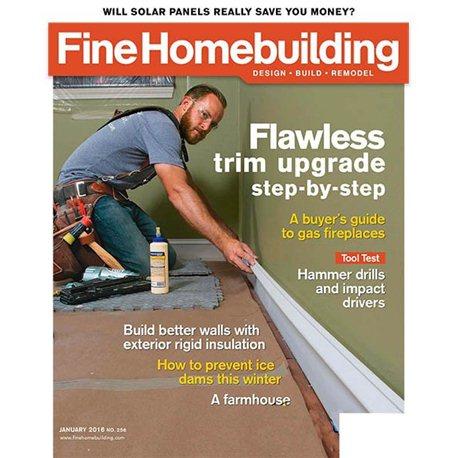 Fine homebuilding magazine subscription truemagazines for Fine homebuilding