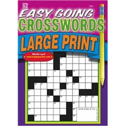Easy Going Crosswords - Large Print