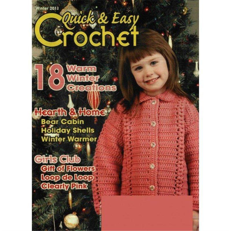 quick and easy crochet magazine