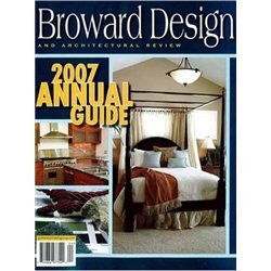 Broward design architectural review magazine for Burowand design