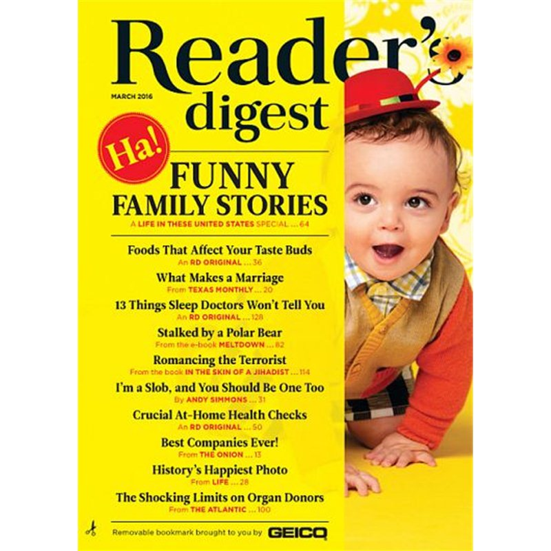 readers digest - large print magazine subscription - truemagazines ...