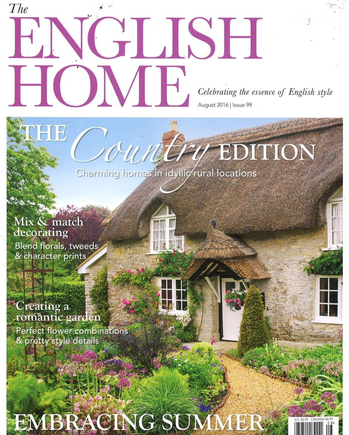 The English Home Reference Print Magazine Subscription