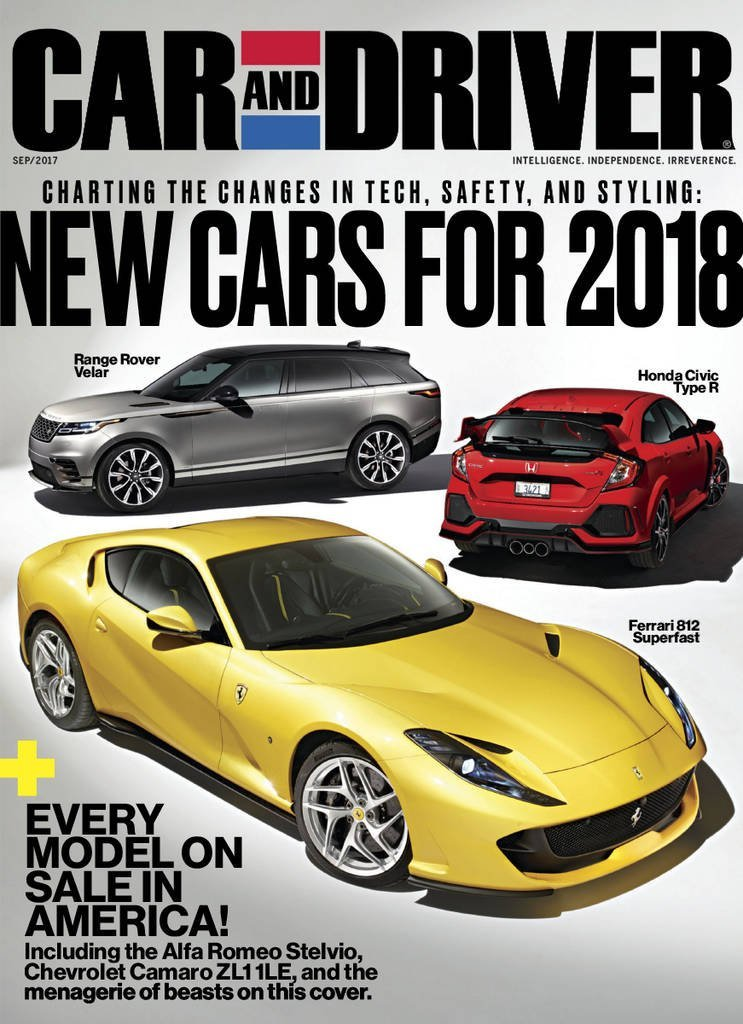 Car And Driver >> Car And Driver Magazine Subscription